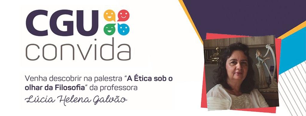 Lúcia Helena Galvão fala sobre ética e filosofia na quarta-feira, 13 de fevereiro