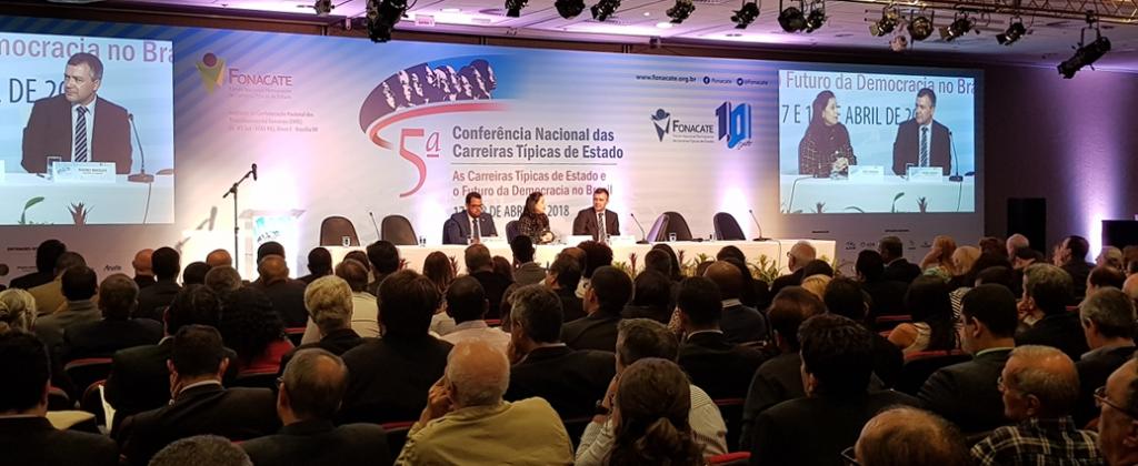Unacon Sindical participa da 5ª Conferência Nacional das Carreiras Típicas de Estado