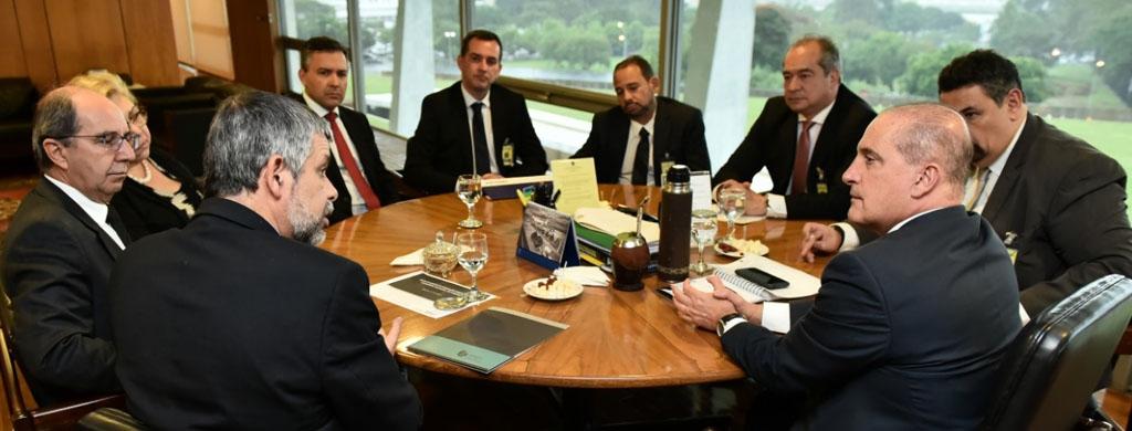Fonacate e Frentas reunem-se com ministro-chefe da Casa Civil nesta quinta, 28