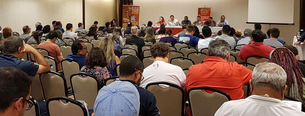 Delegados sindicais destacam a importância da atualização de conhecimento técnico