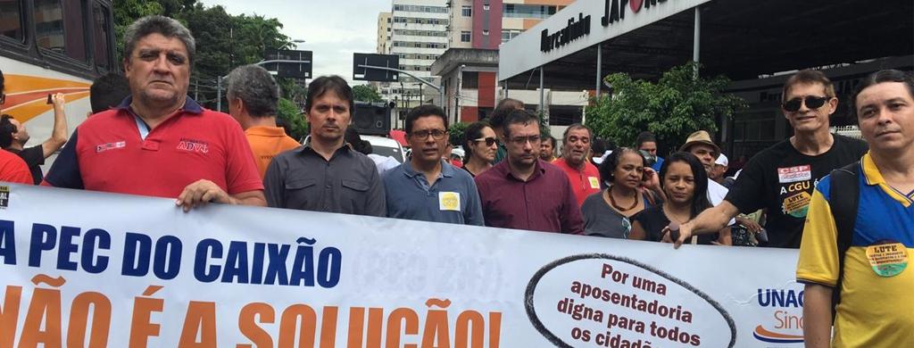 22 de março: Regional Ceará integra Dia Nacional de Lutas em Defesa da Previdência