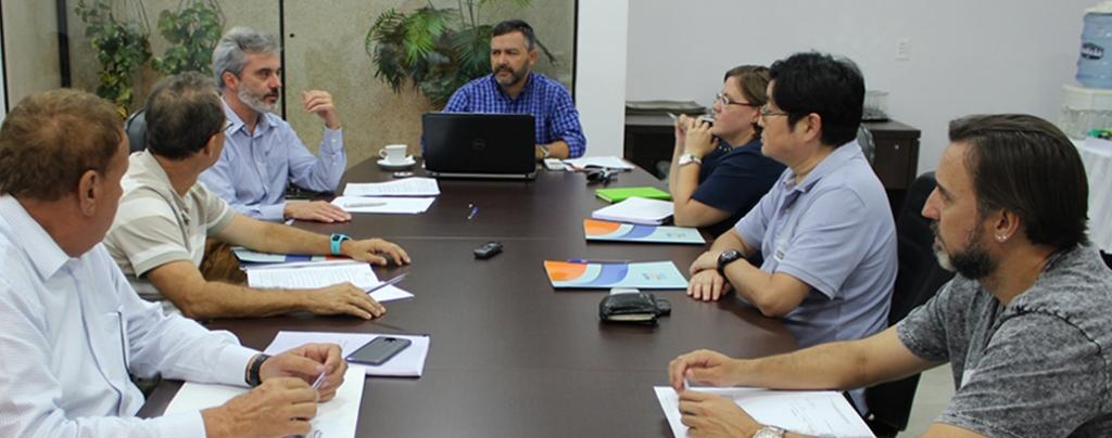 Diretoria Executiva Nacional realiza a primeira reunião após a posse