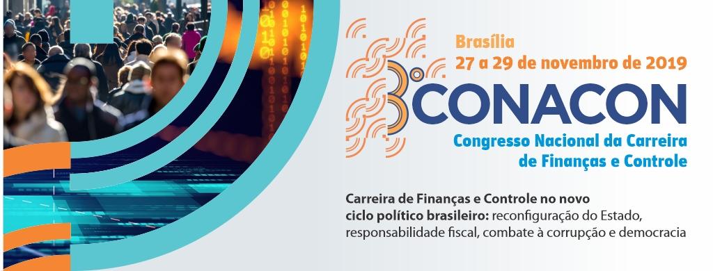 III edição do Conacon será realizada de 27 a 29 de novembro, em Brasília