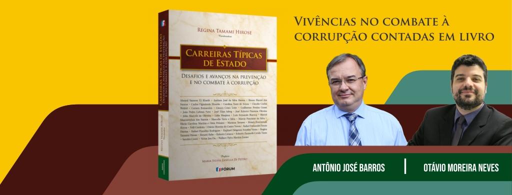 """Auditores Federais de Finanças e Controle são colaboradores do livro """"Carreiras Típicas de Estado"""""""