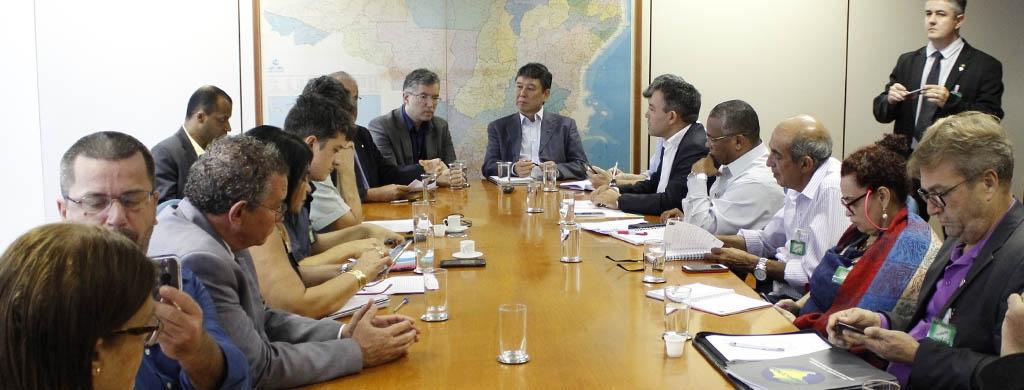 Reunião no Planejamento reacende estado de alerta nos dirigentes sindicais