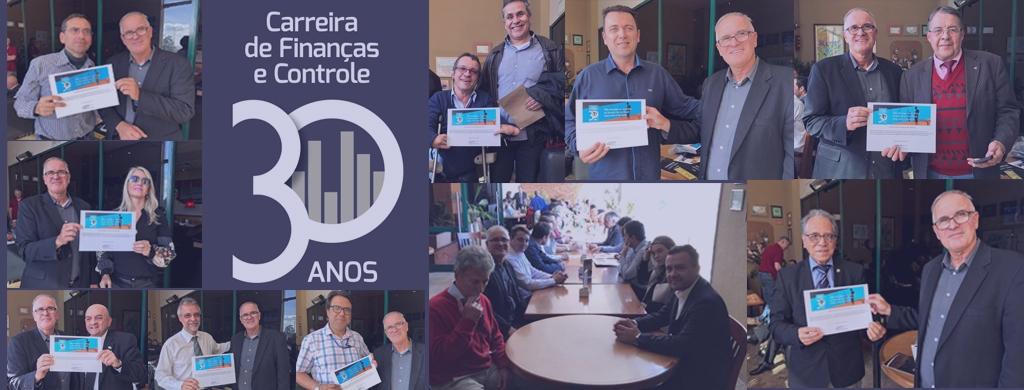 No Rio Grande do Sul, servidores celebram os 30 anos da carreira de Finanças e Controle