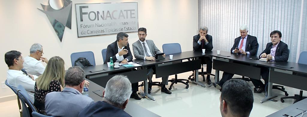Entidades afiliadas ao Fonacate deliberam novas ações