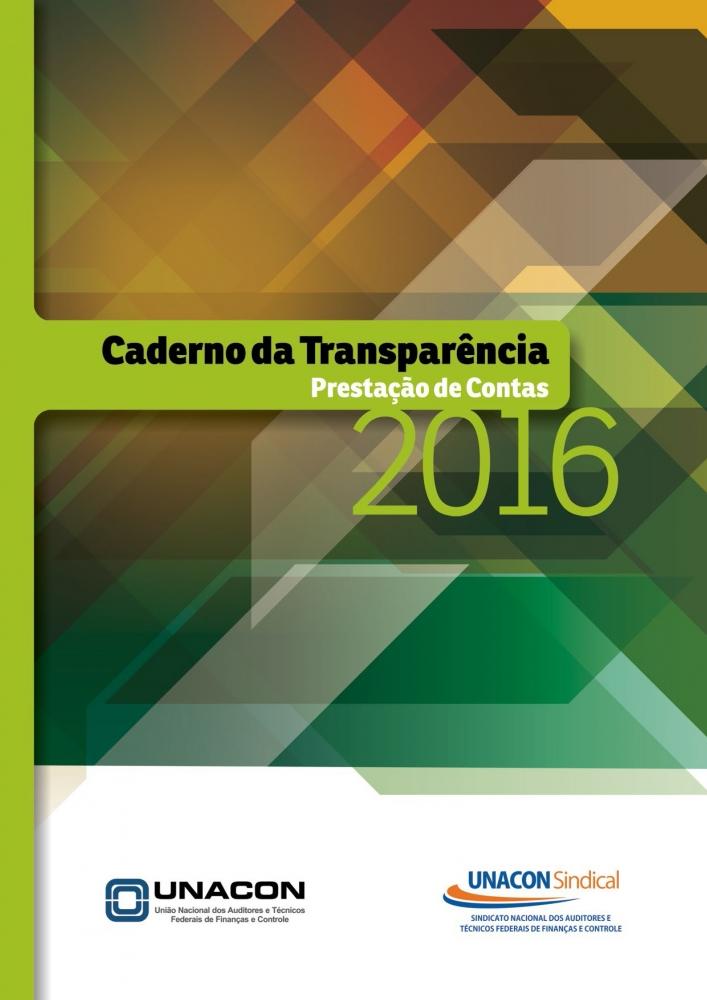 Caderno Transparência 2016