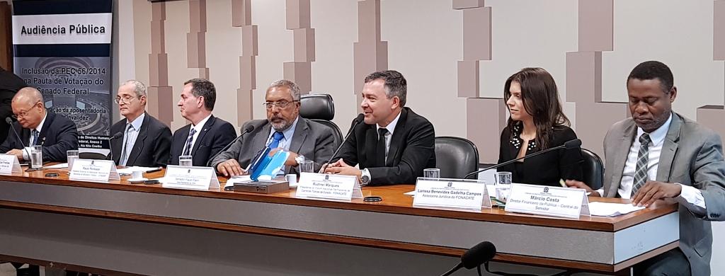 Marques defende proventos integrais para aposentadorias por invalidez em qualquer hipótese