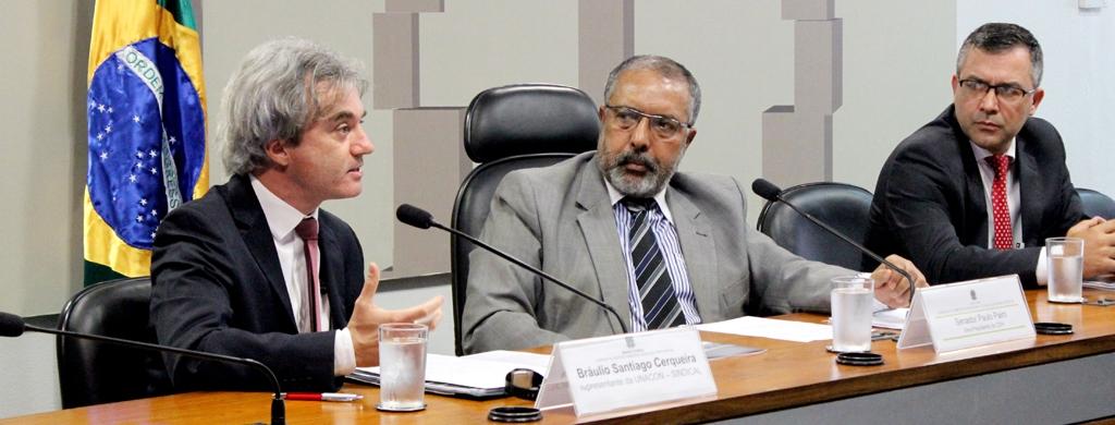 Unacon Sindical lança estudo sobre a Previdência em audiência pública na CDH do Senado