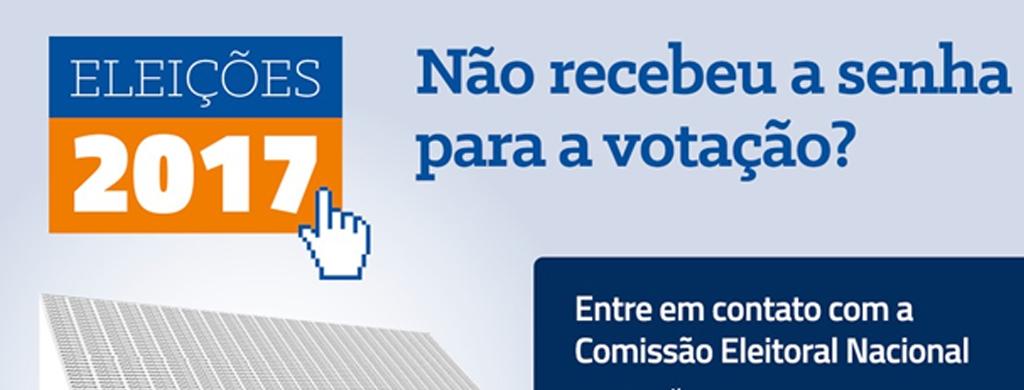 Não deixe de votar. Saiba o que fazer, caso ainda não tenha recebido a carta senha em sua casa