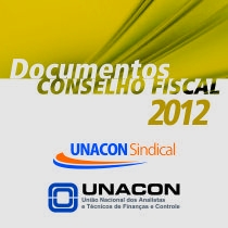 Documentos do Conselho Fiscal 2012