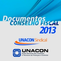 Documentos do Conselho Fiscal 2013