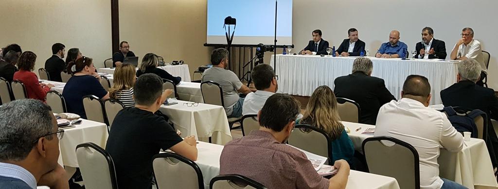 Unacon Sindical participa de seminário jurídico para definir estratégias de atuação