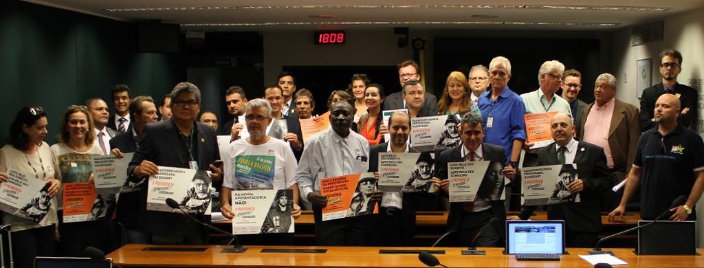 Movimento contra a PEC 287/2016 estabelece seis coordenações de atuação