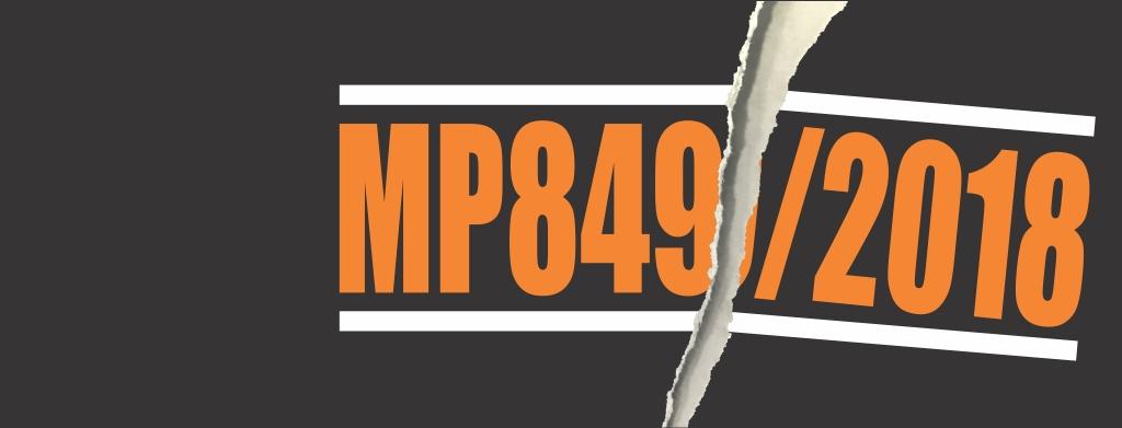 Adiamento do reajuste: MP 849/2018 perde a validade