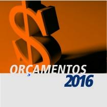 Orçamentos 2016